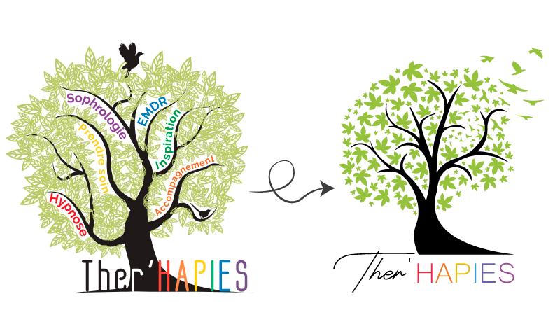 logotype Ther'Hapies transformation